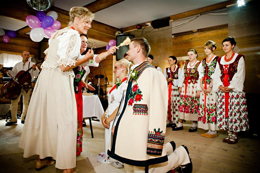 Góralski ślub Fotografia ślubna Robert Borecki Białystok